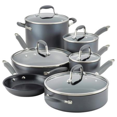 Image of Anolon Nonstick 11-Piece cook set.
